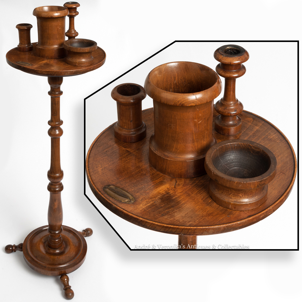 Antique smokers stand pipe cigar edwardian vintage for What are old plumbing pipes made of