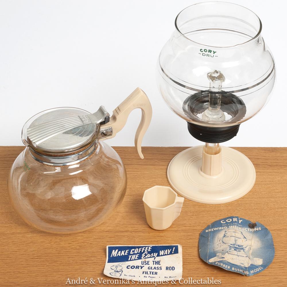 cory coffee maker instructions